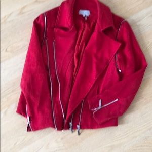 Bomb red jacket